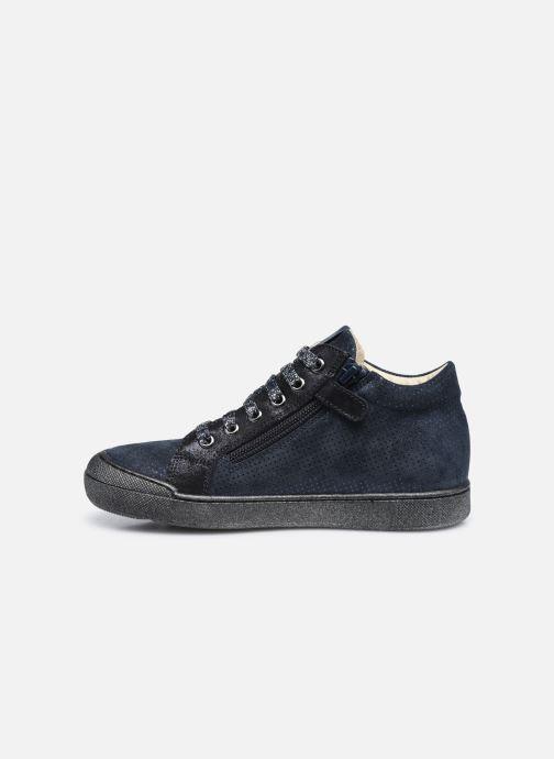 Sneakers Naturino Dord zip Azzurro immagine frontale