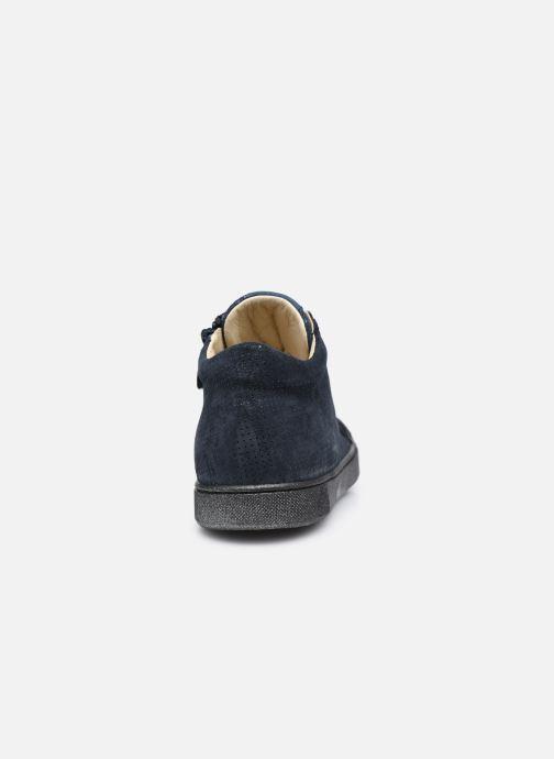 Sneakers Naturino Dord zip Blauw rechts