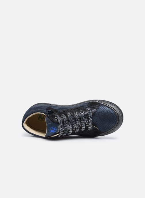 Sneakers Naturino Dord zip Azzurro immagine sinistra