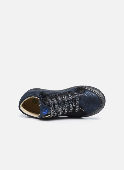 Sneakers Naturino Dord zip Blauw links