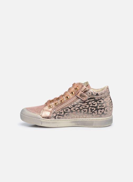 Sneaker Naturino Dord zip rosa ansicht von vorne