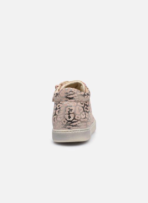 Sneaker Naturino Dord zip rosa ansicht von rechts