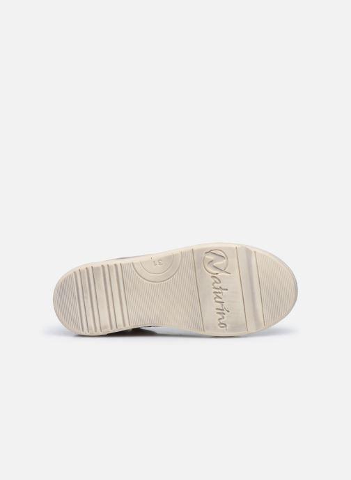 Sneaker Naturino Dord zip rosa ansicht von oben