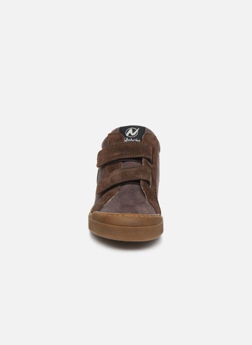 Sneaker Naturino Renesse VL braun schuhe getragen