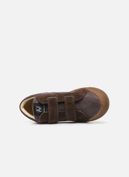 Sneakers Naturino Renesse VL Bruin links