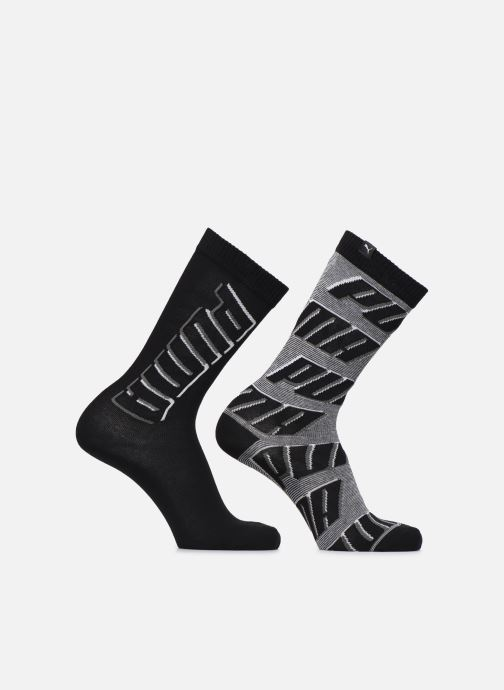Socks & tights Puma Socks CLASSIC ALLOVER LOGO Lot de 2 Black detailed view/ Pair view