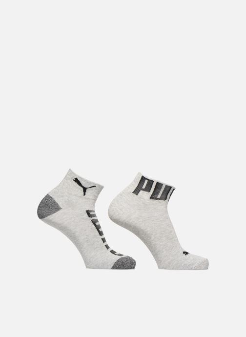 Chaussettes et collants Puma Socks LOGO WELT Pack de 2 Gris vue détail/paire