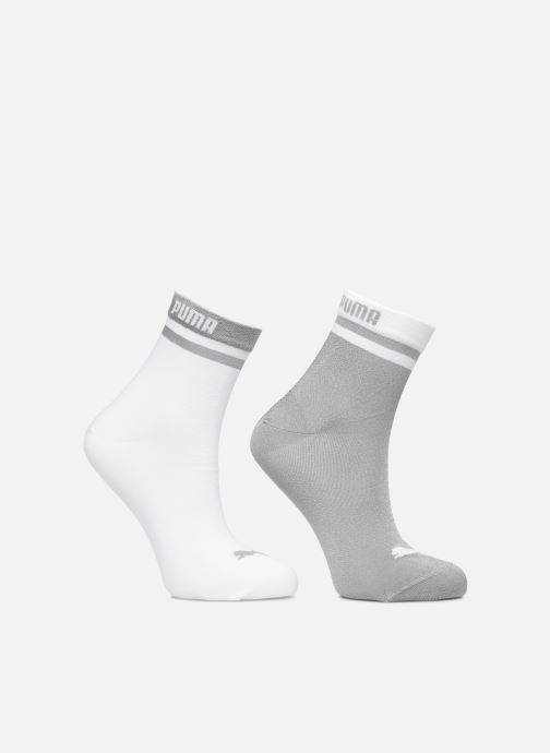 Chaussettes et collants Puma Socks SHORT SOCK RADIENT Lot de 2 Blanc vue détail/paire