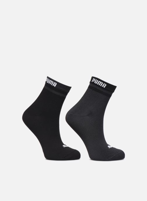 Strømper og tights Puma Socks SHORT SOCK RADIENT Lot de 2 Sort detaljeret billede af skoene