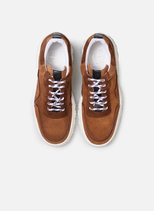 Sneakers Made by SARENZA Night Rock Baskets #1 Marrone modello indossato