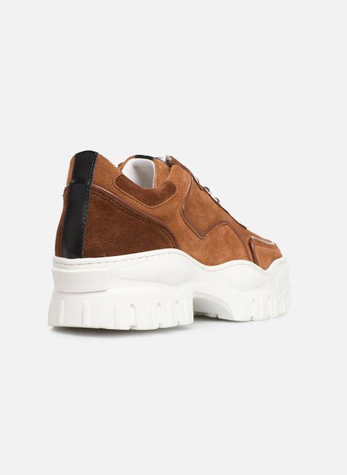 Sneakers Made by SARENZA Night Rock Baskets #1 Bruin voorkant