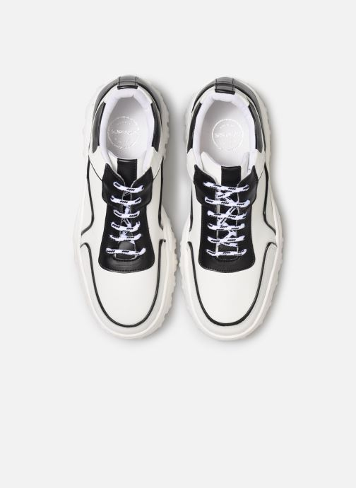 Sneaker Made by SARENZA Night Rock Baskets #1 weiß schuhe getragen