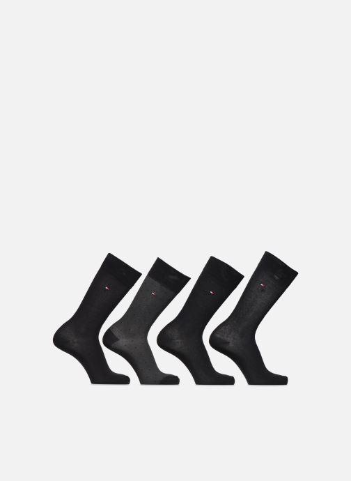 Chaussettes et collants Tommy Hilfiger Gift Box Mixed Dots Lot de 4 Noir vue détail/paire
