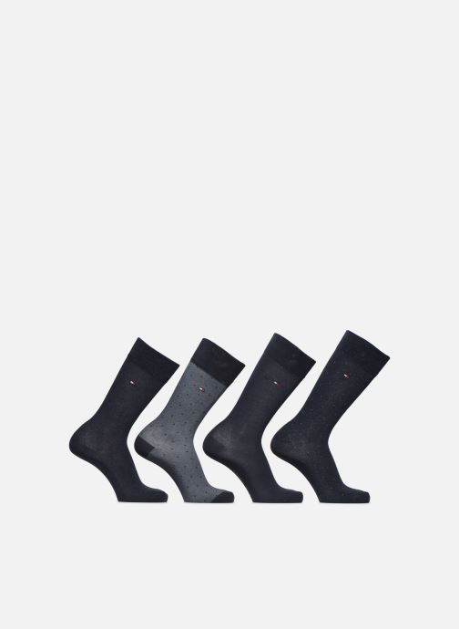 Socks & tights Tommy Hilfiger Gift Box Mixed Dots Lot de 4 Blue detailed view/ Pair view