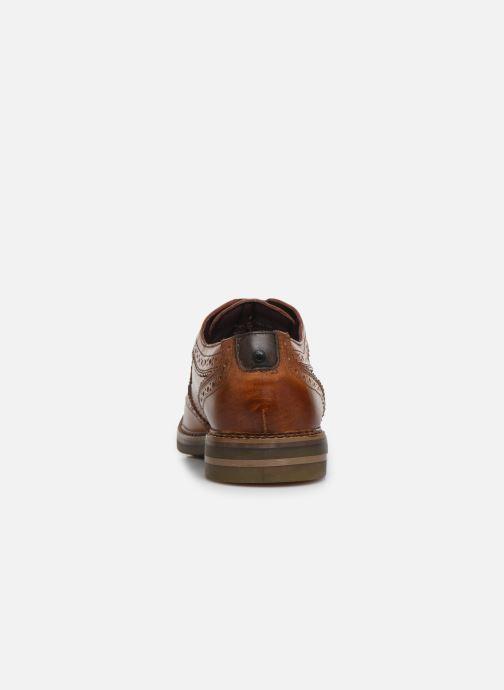 Chaussures à lacets Base London KENT Marron vue droite