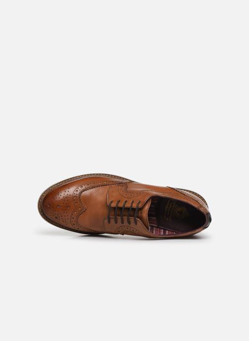 Chaussures à lacets Base London KENT Marron vue gauche