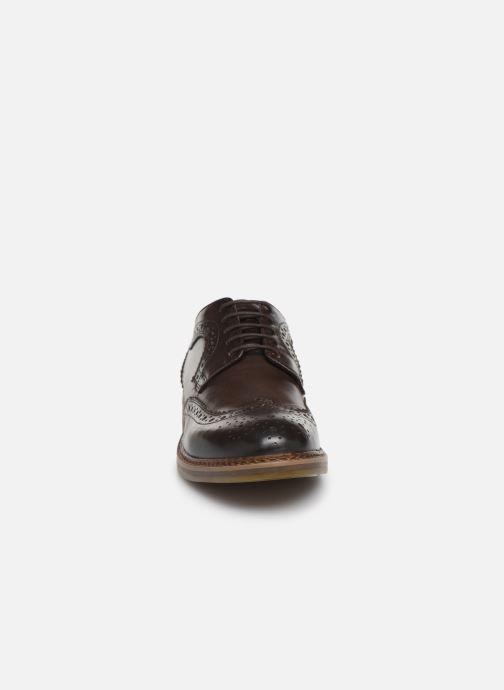 Chaussures à lacets Base London KENT Marron vue portées chaussures