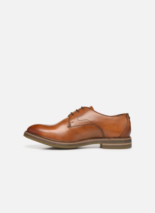 Chaussures à lacets Base London WAYNE Marron vue face