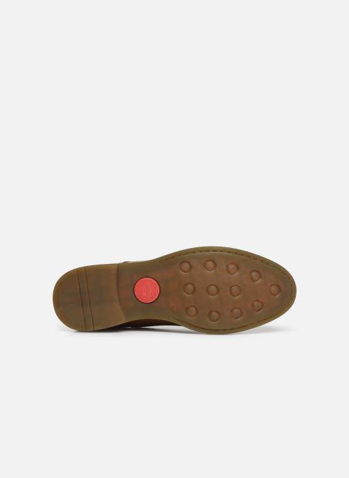 Chaussures à lacets Base London WAYNE Marron vue haut