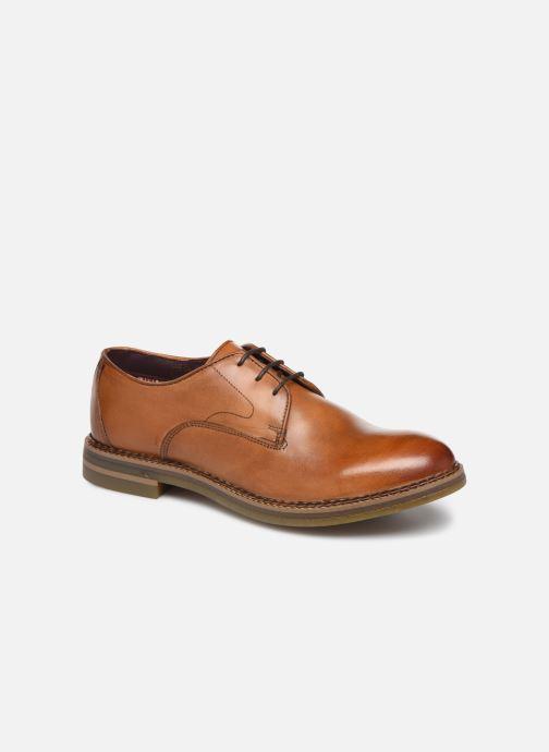 Chaussures à lacets Base London WAYNE Marron vue détail/paire