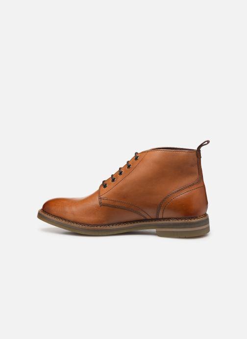 Bottines et boots Base London RAYNOR Marron vue face