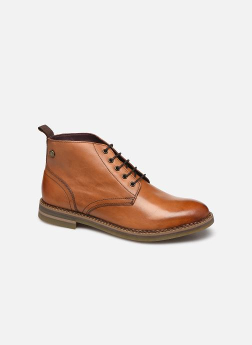 Boots en enkellaarsjes Base London RAYNOR Bruin detail