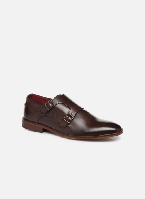 Loafers Base London MONTAGE Brown detailed view/ Pair view