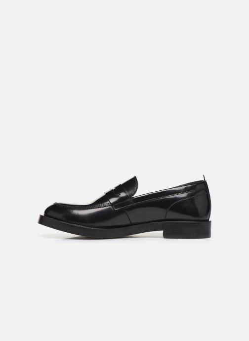Loafers Base London FULTON Black front view