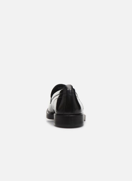 Loafers Base London FULTON Black view from the right