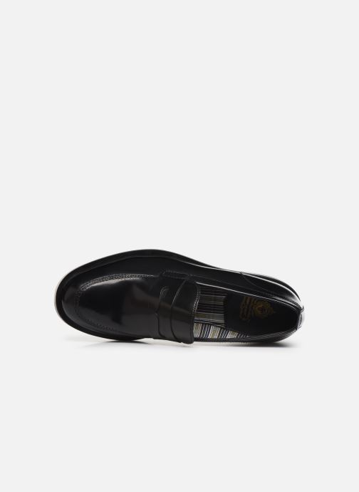 Loafers Base London FULTON Black view from the left