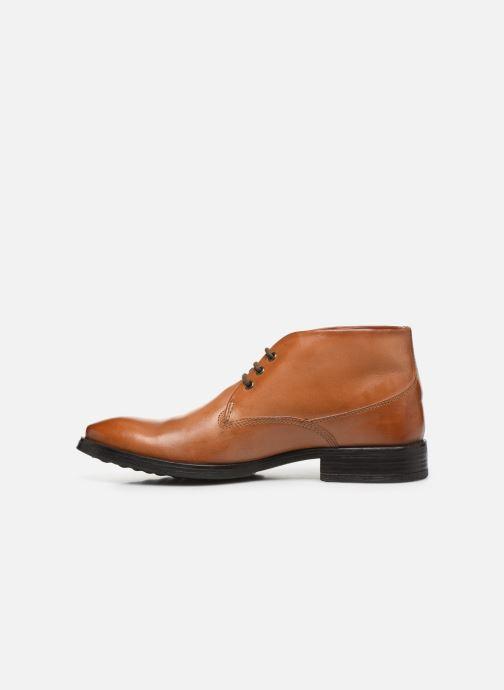 Boots en enkellaarsjes Base London BRAMLEY Bruin voorkant