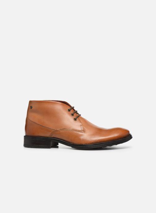 Boots en enkellaarsjes Base London BRAMLEY Bruin achterkant