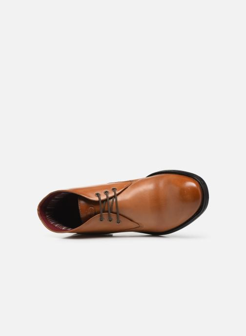 Boots en enkellaarsjes Base London BRAMLEY Bruin links