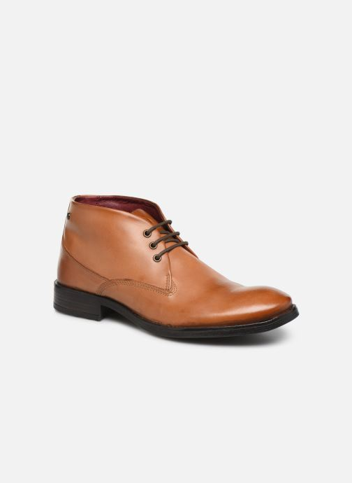 Boots en enkellaarsjes Base London BRAMLEY Bruin detail