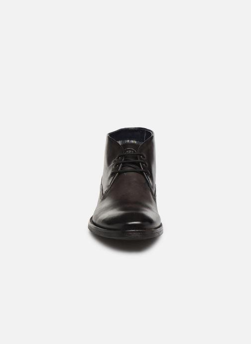 Bottines et boots Base London BRAMLEY Gris vue portées chaussures