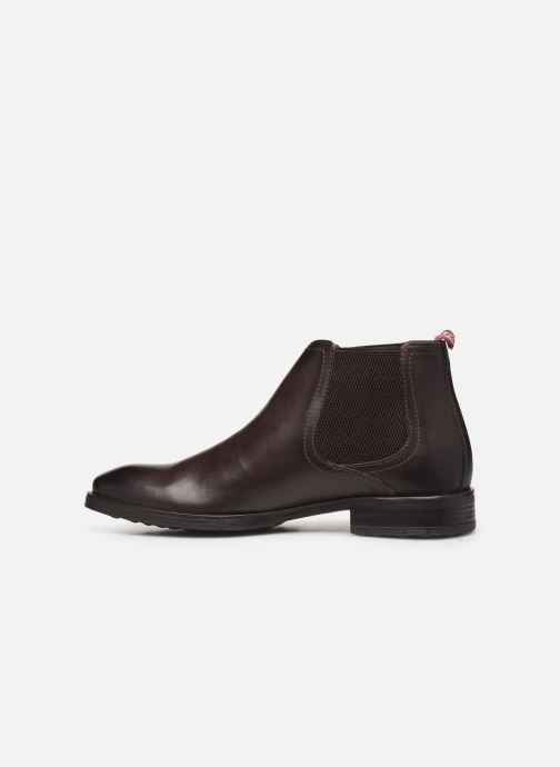 Boots en enkellaarsjes Base London OXLEY Bruin voorkant