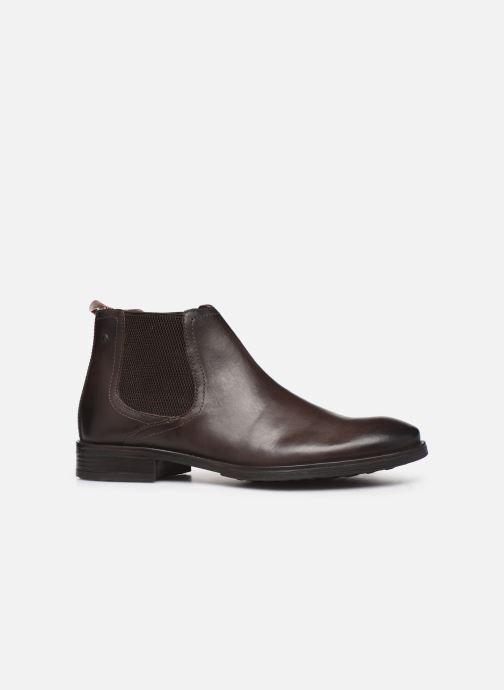 Boots en enkellaarsjes Base London OXLEY Bruin achterkant