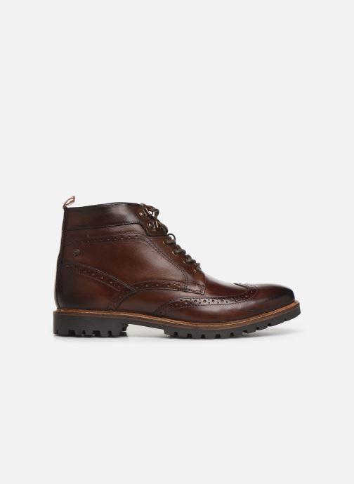 Boots en enkellaarsjes Base London BOWER Bruin achterkant