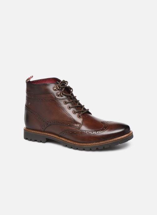 Boots en enkellaarsjes Base London BOWER Bruin detail