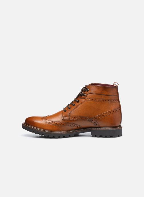 Bottines et boots Base London BOWER Marron vue face