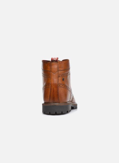Bottines et boots Base London BOWER Marron vue droite