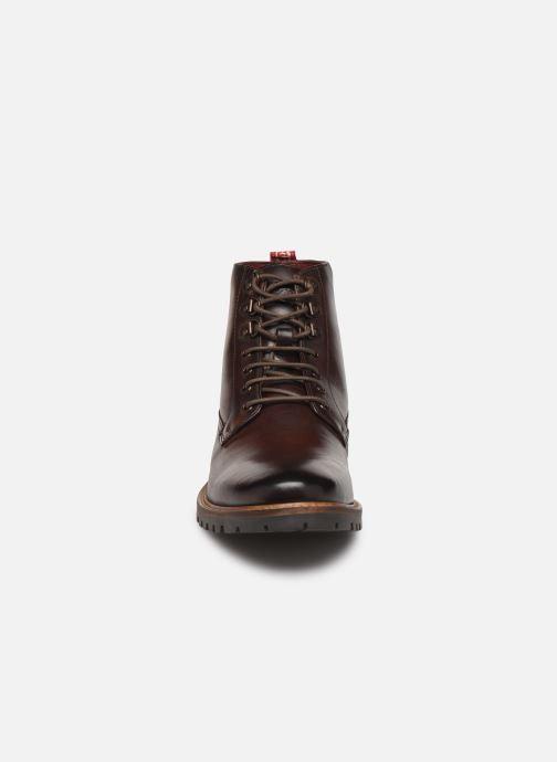 Bottines et boots Base London CALLAHAN Marron vue portées chaussures