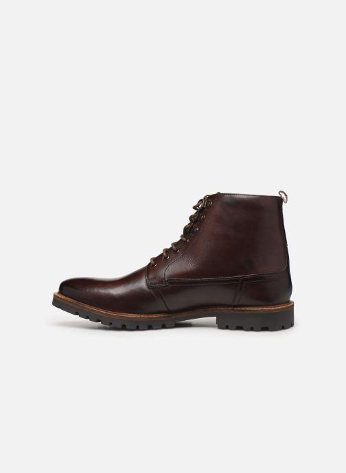 Stiefeletten & Boots Base London CALLAHAN braun ansicht von vorne