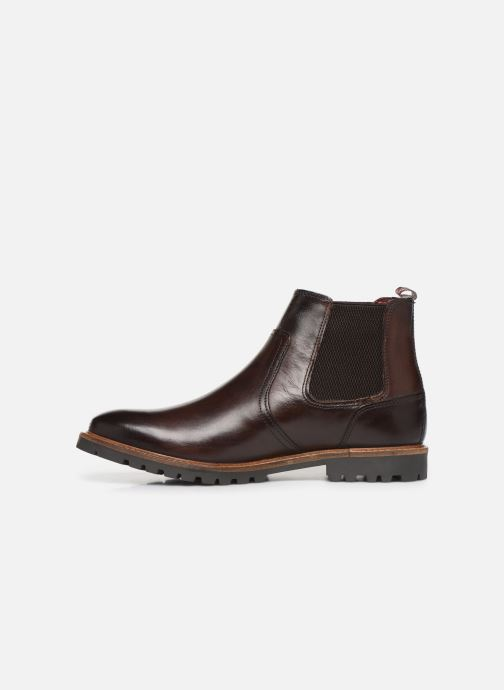 Bottines et boots Base London WILKES Marron vue face