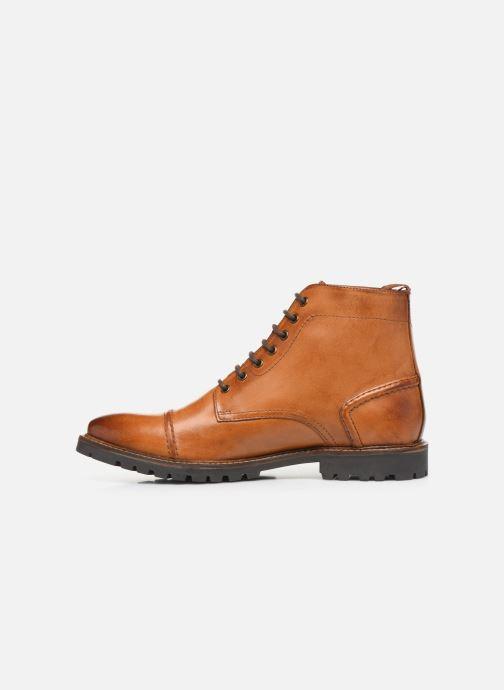 Bottines et boots Base London EMERSON Marron vue face