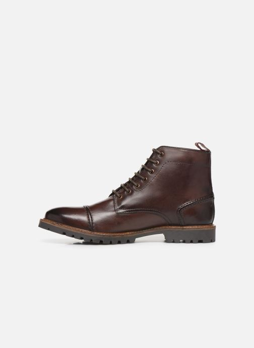 Ankle boots Base London EMERSON Brown front view