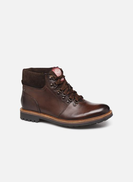 Boots en enkellaarsjes Base London FAWN Bruin detail