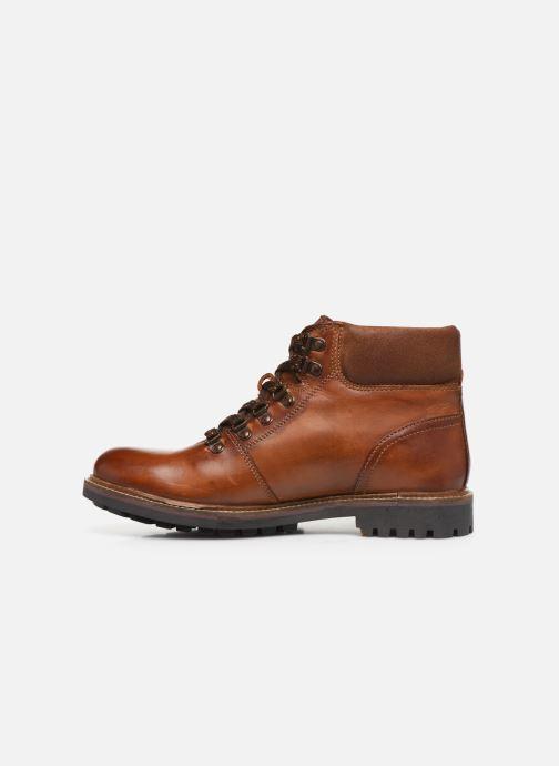 Bottines et boots Base London FAWN Marron vue face