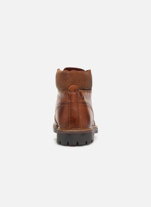 Bottines et boots Base London FAWN Marron vue droite