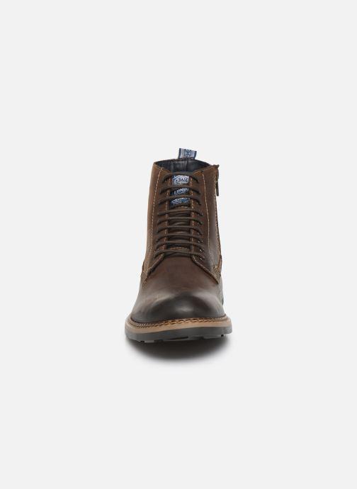 Stiefeletten & Boots Base London WRENCH braun schuhe getragen